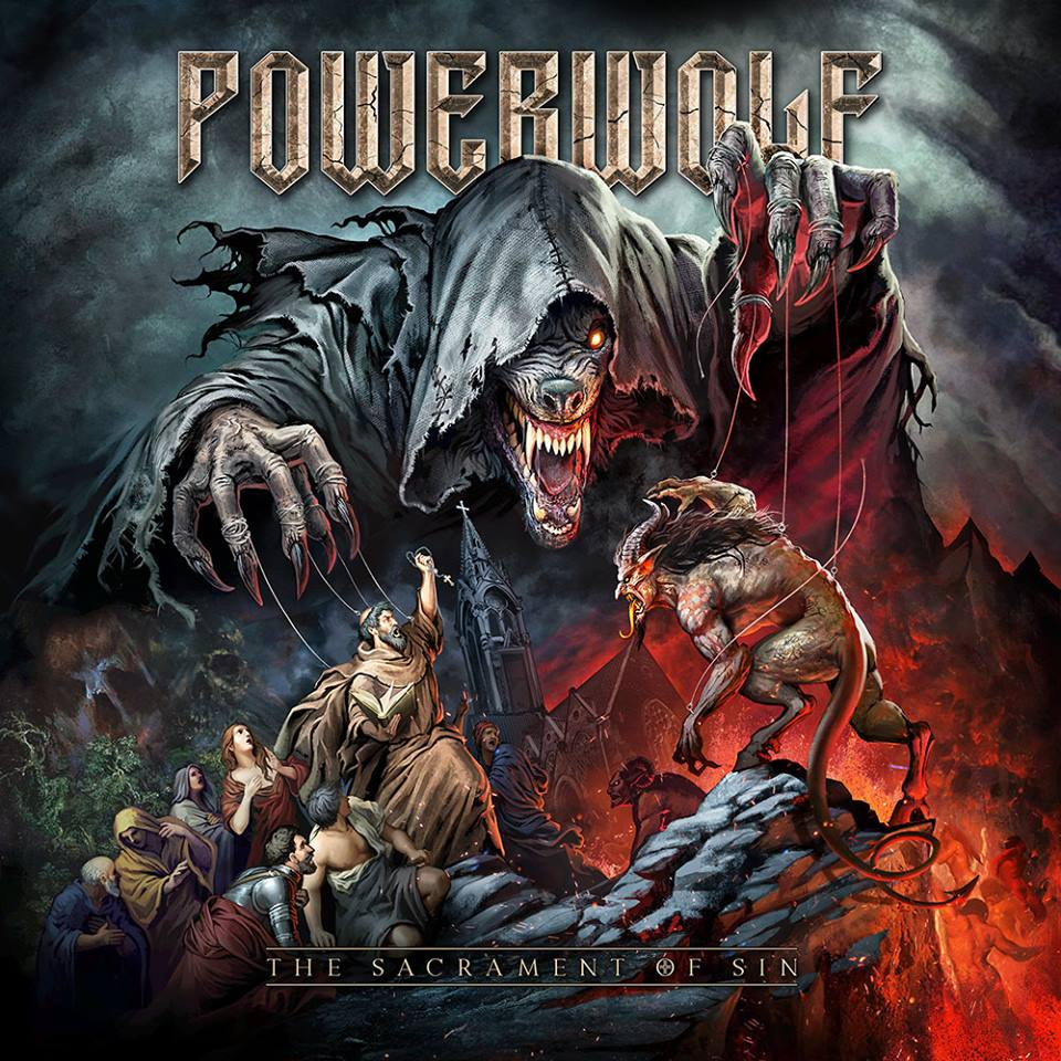 POWERWOLF The Sacrament Of Sin (2018) Heavy Metal Epic Allemagne 29683110