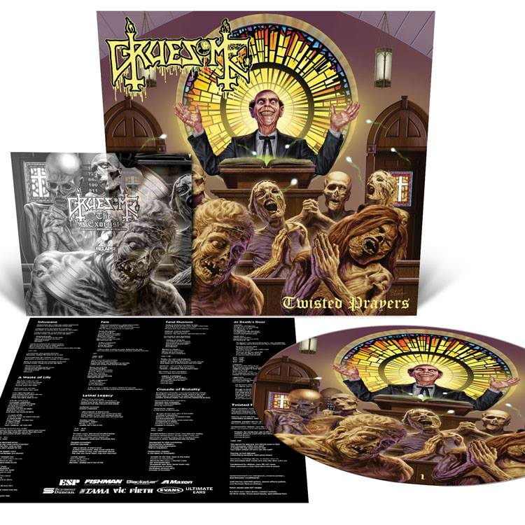 GRUESOME Twisted Prayers (2018) Death Metal USA 29790810