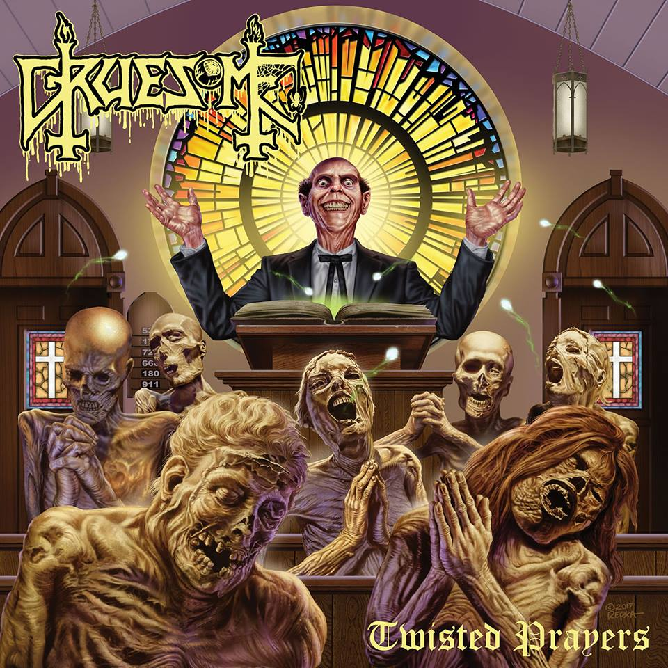 GRUESOME Twisted Prayers (2018) Death Metal USA 30127010