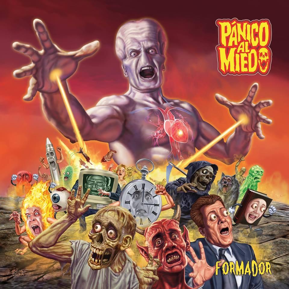 PANICO AL MIEDO Formador (2018) Thrash Espagne 30594811