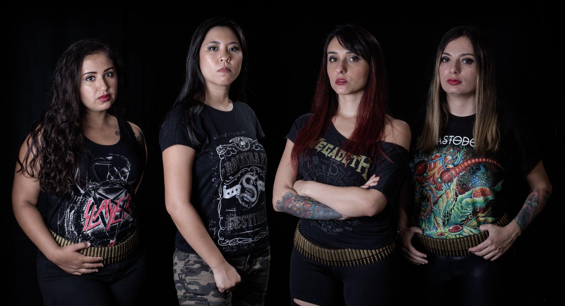 SINAYA Abyss to Death (2018) Nouveau clip de death/thrash des brésiliennes 30705610
