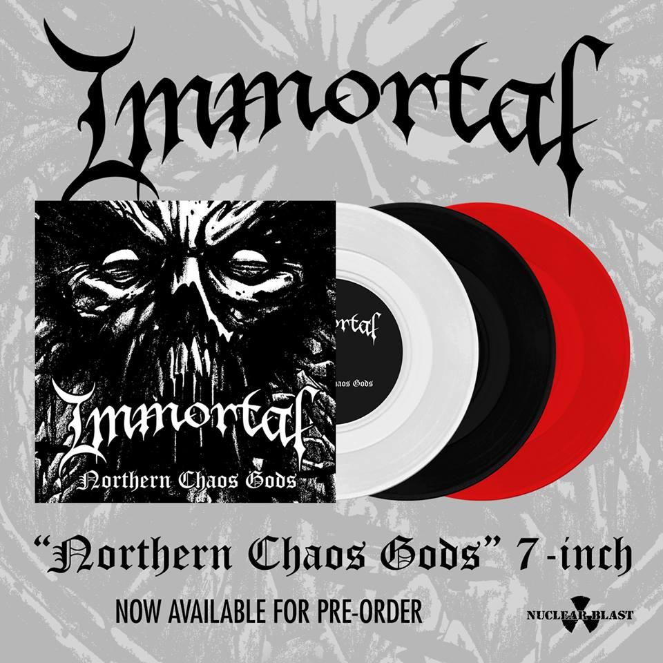 IMMORTAL Northern Chaos Gods (2018) Black Metal Norvège 30762910