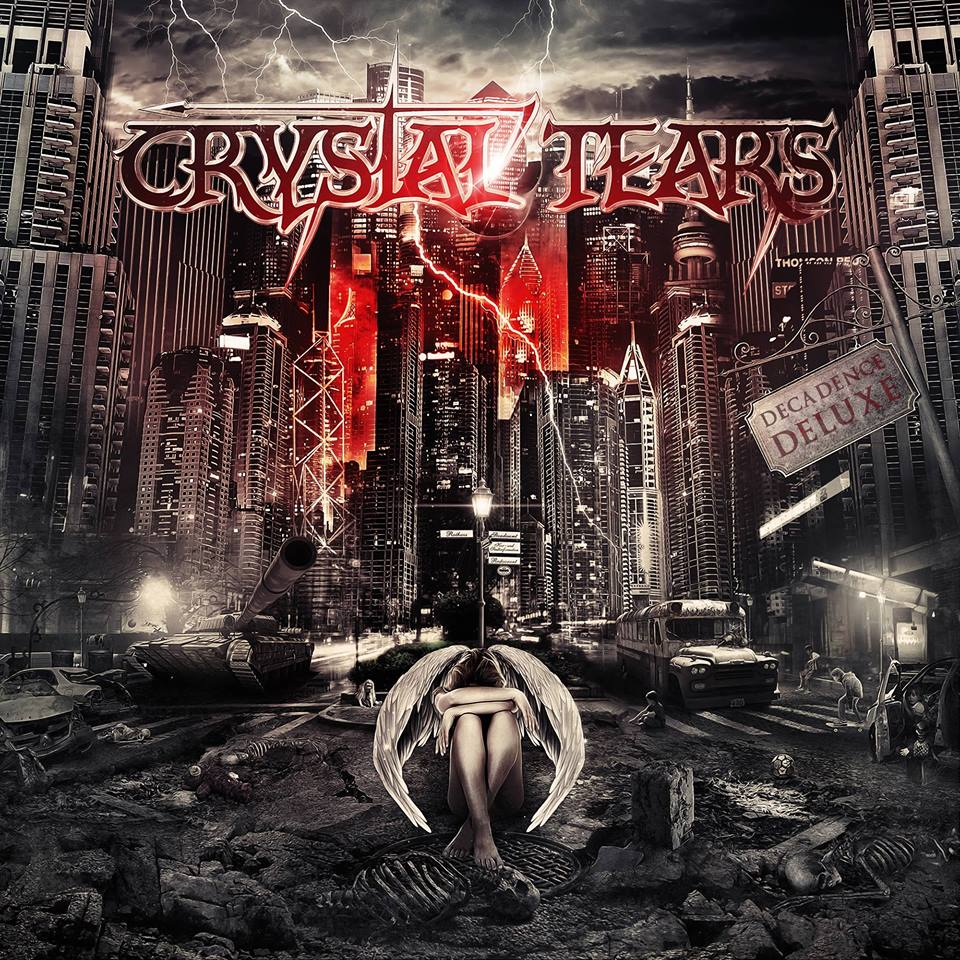 CRYSTAL TEARS Decadence Deluxe (2018) Heavy Metal Grèce 31239310