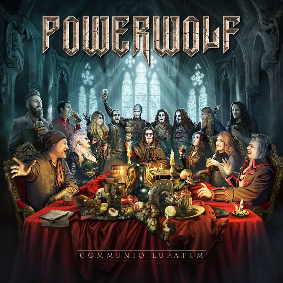 POWERWOLF The Sacrament Of Sin (2018) Heavy Metal Epic Allemagne 31543610