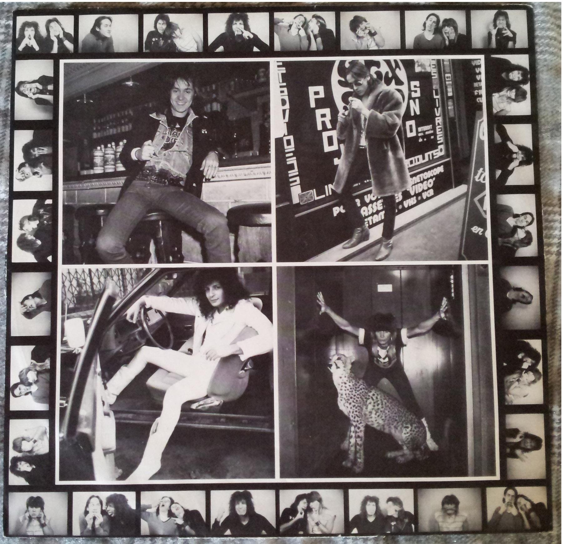 SATAN JOKERS Trop fou pour toi (1984) le vinyle vu de plus près ... 331