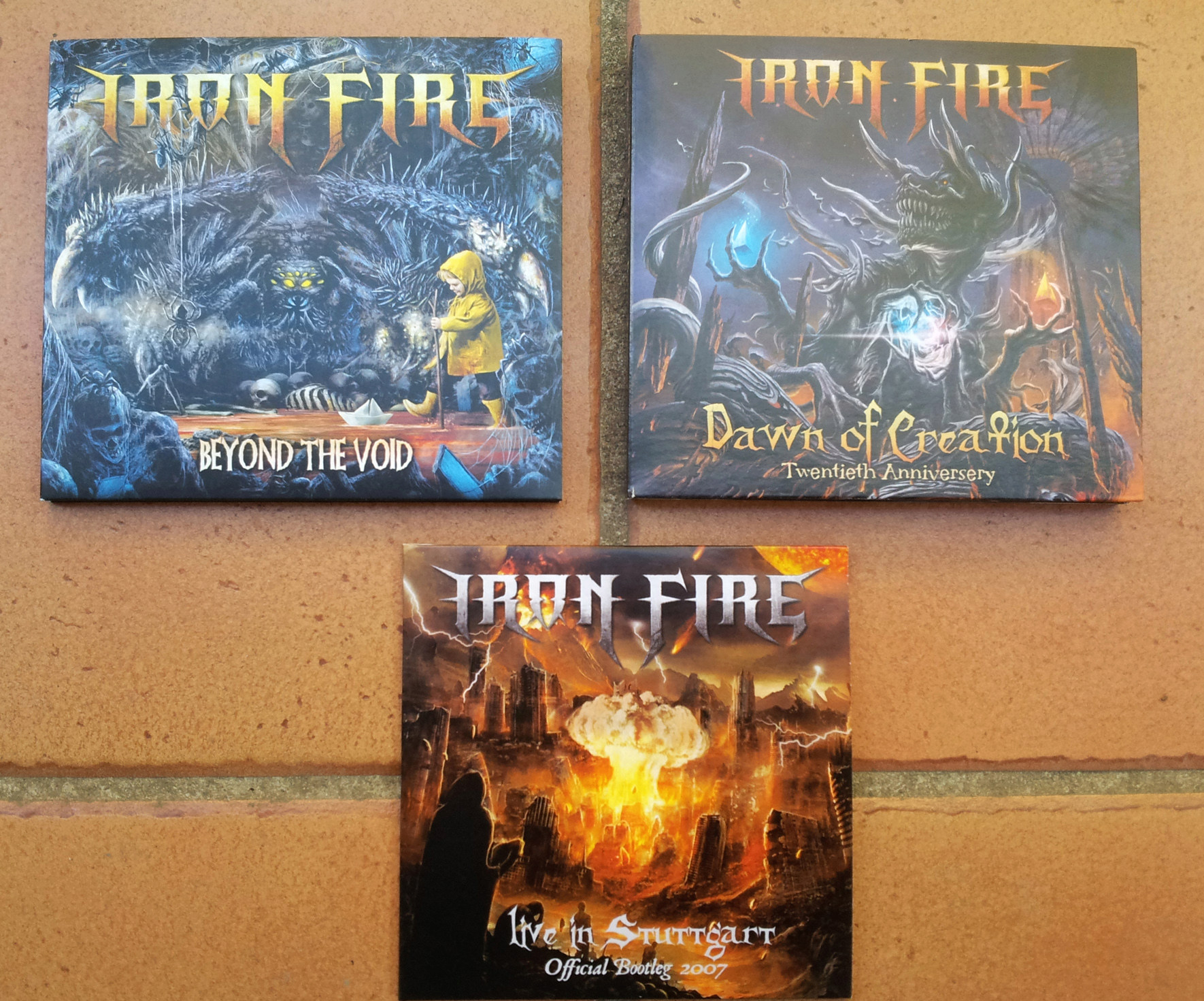 IRON FIRE Beyond The Void (2019) Heavy-Metal Danemark 334