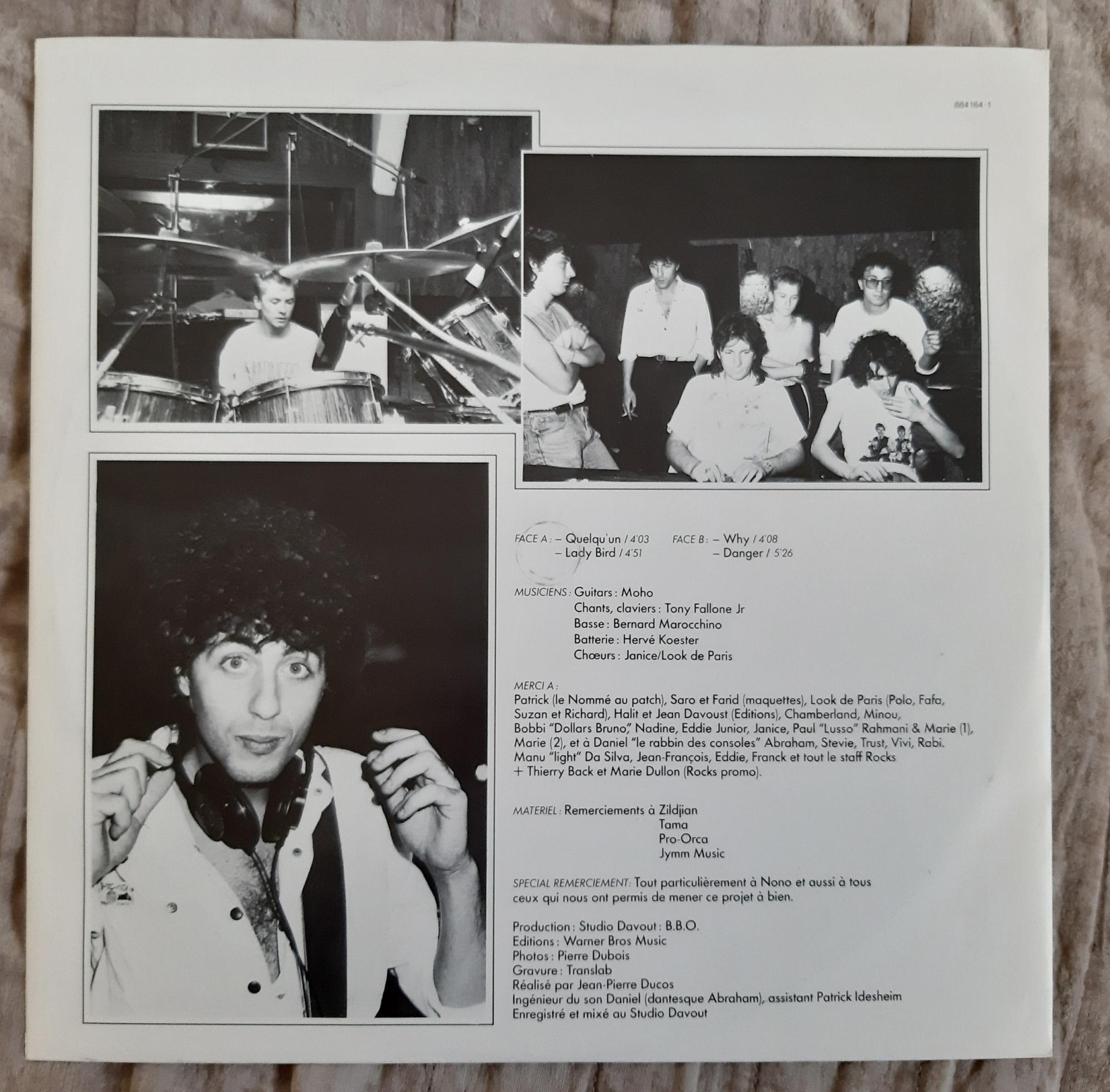 MORHO Morho (1985) Maxi 45 tours - le vinyle vu de plus près ...   340