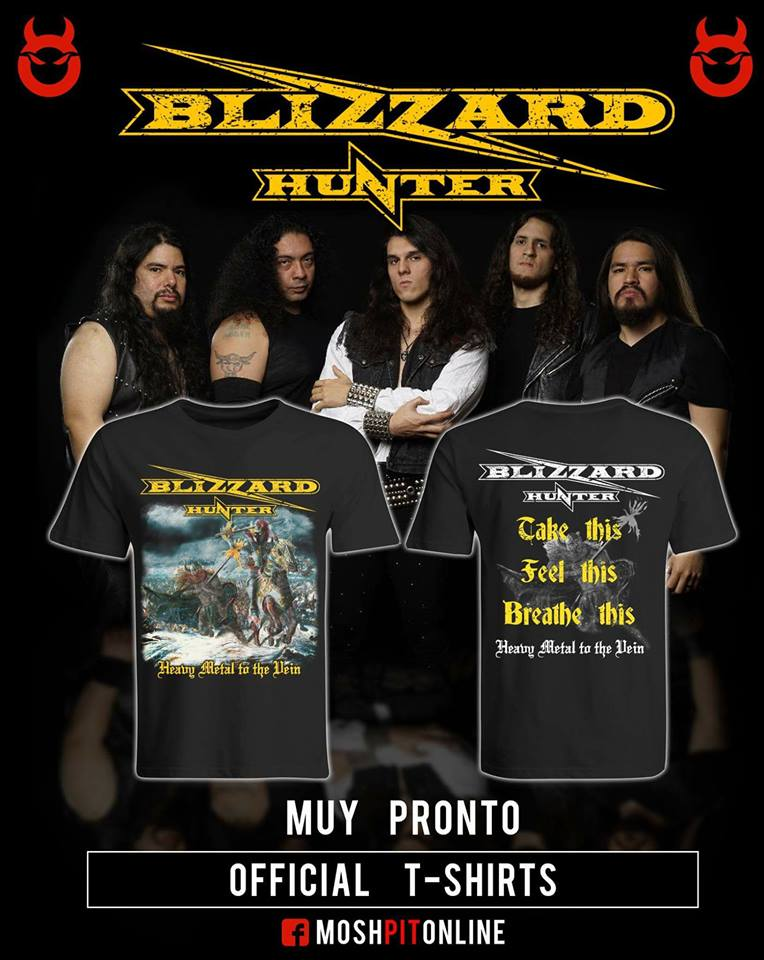 BLIZZARD HUNTER Live at Padova (2018) Heavy Metal PEROU 34755310
