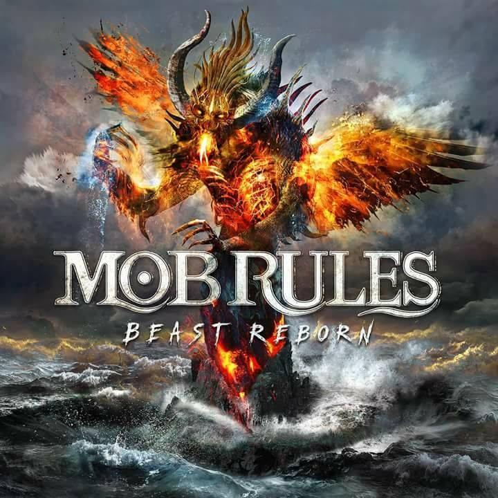 MOB RULES Beast Reborn (2018) Heavy Metal ALLEMAGNE 35515210