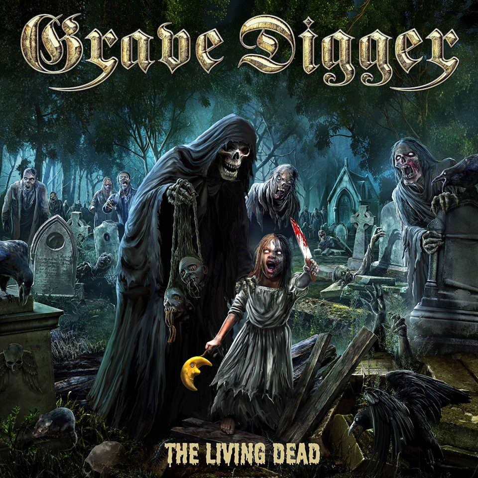 GRAVE DIGGER The Living Dead (2018) Heavy/Power ALLEMAGNE 35548010
