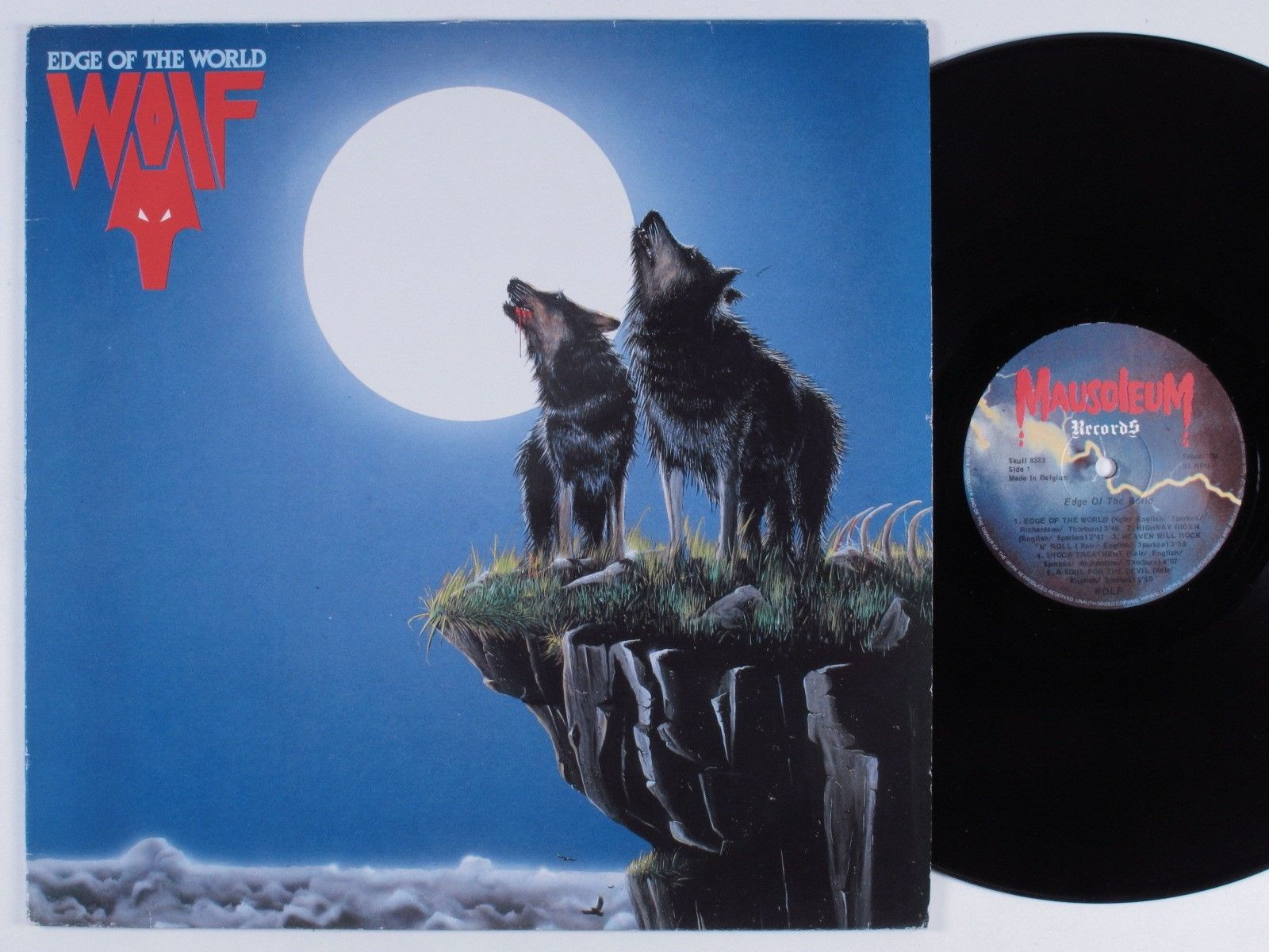 WOLF Edge Of The World (1982) NWOBHM / Heavy Metal 36194810