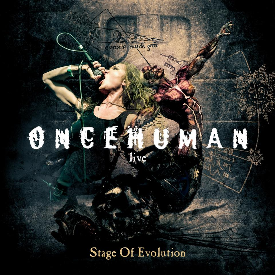 ONCE HUMAN Stage Of Evolution Live (2018) Melodic Death Metal/Groove Metal  U.S.A  37336410