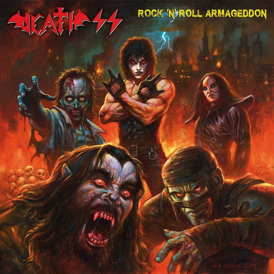 DEATH SS Rock 'N' Roll Armageddon (2018) Occult Heavy Metal italie 37409910