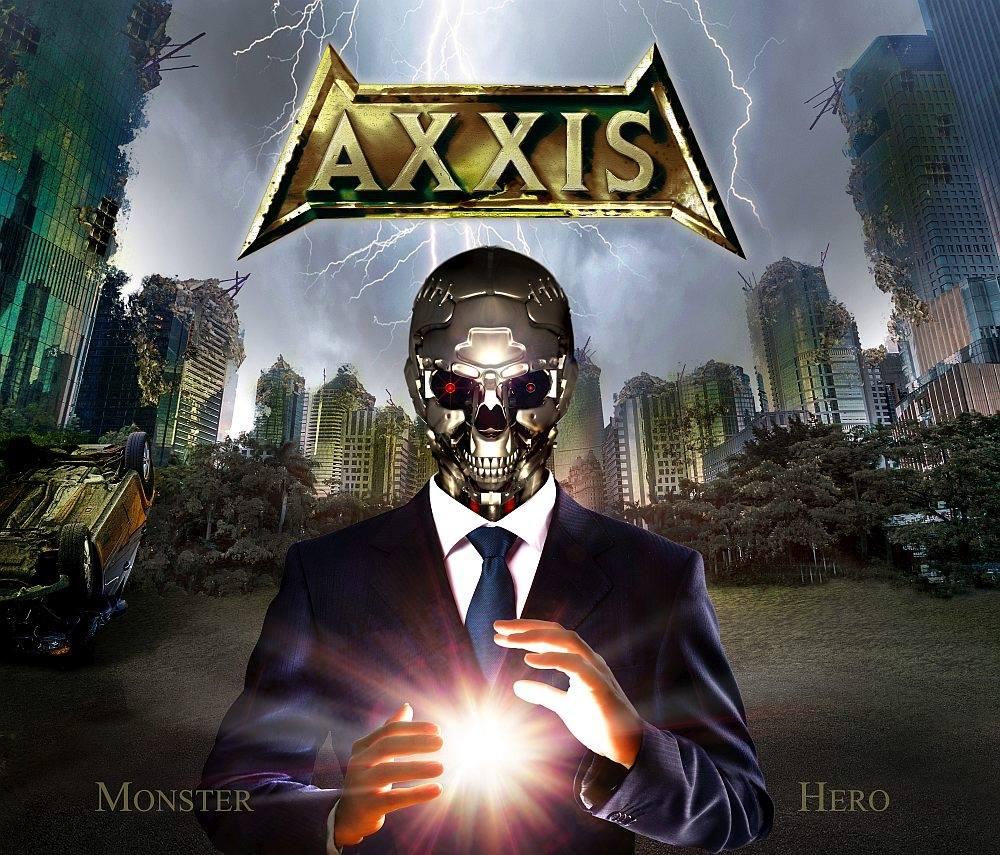 AXXIS Monster Hero (2018) Heavy Metal ALLEMAGNE 37534510