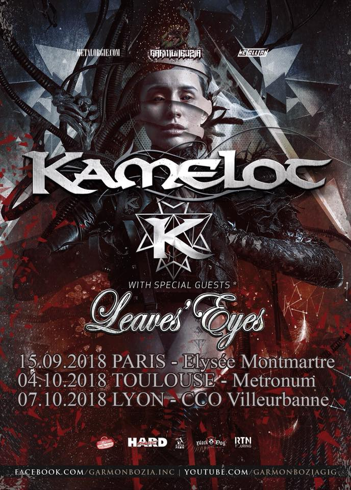KAMELOT The Shadow Theory (2018) Metal Shymphonic USA 37711310
