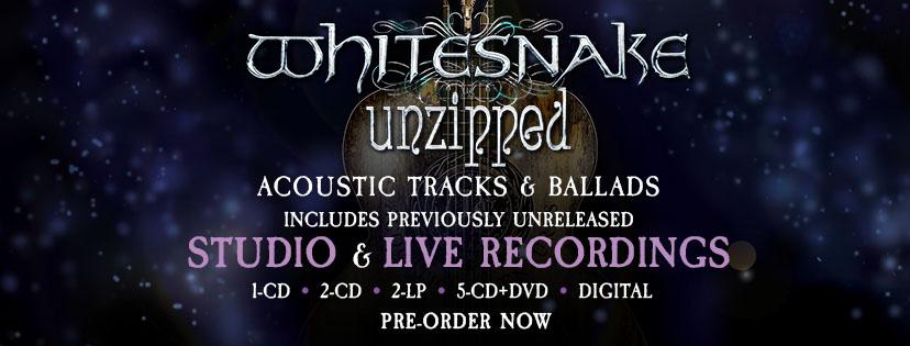 WHITESNAKE Unzipped (2018) Nouveau coffret de 6 disques ... 38392310