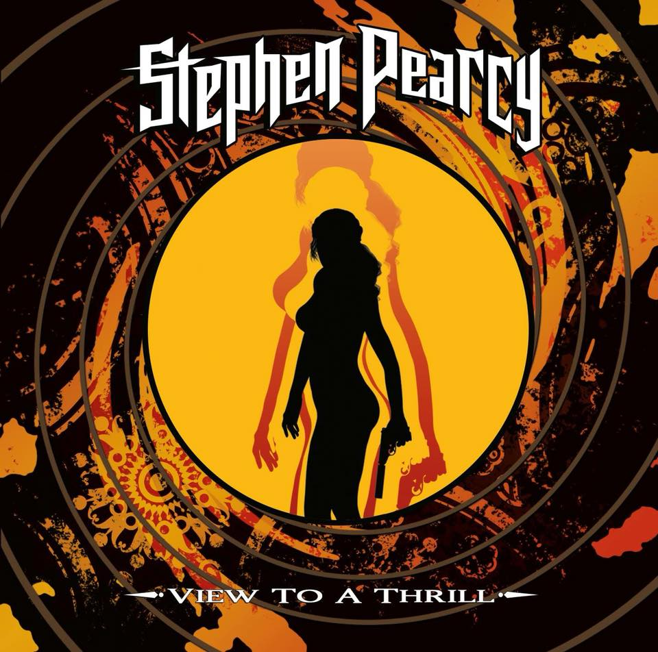 STEPHEN PEARCY View To A Thrill (2018) Hard-Rock USA 38519010