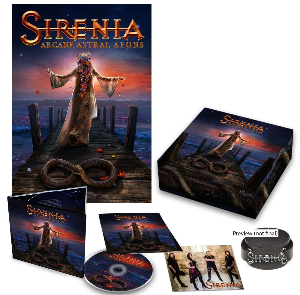 SIRENIA Arcane Astral Aeons (2018) Metal Symphonic Norvège 38819710
