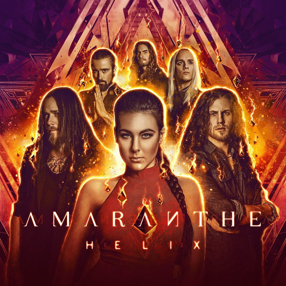 AMARANTHE Helix (2018) Metal Symphonic SUEDE 38867110
