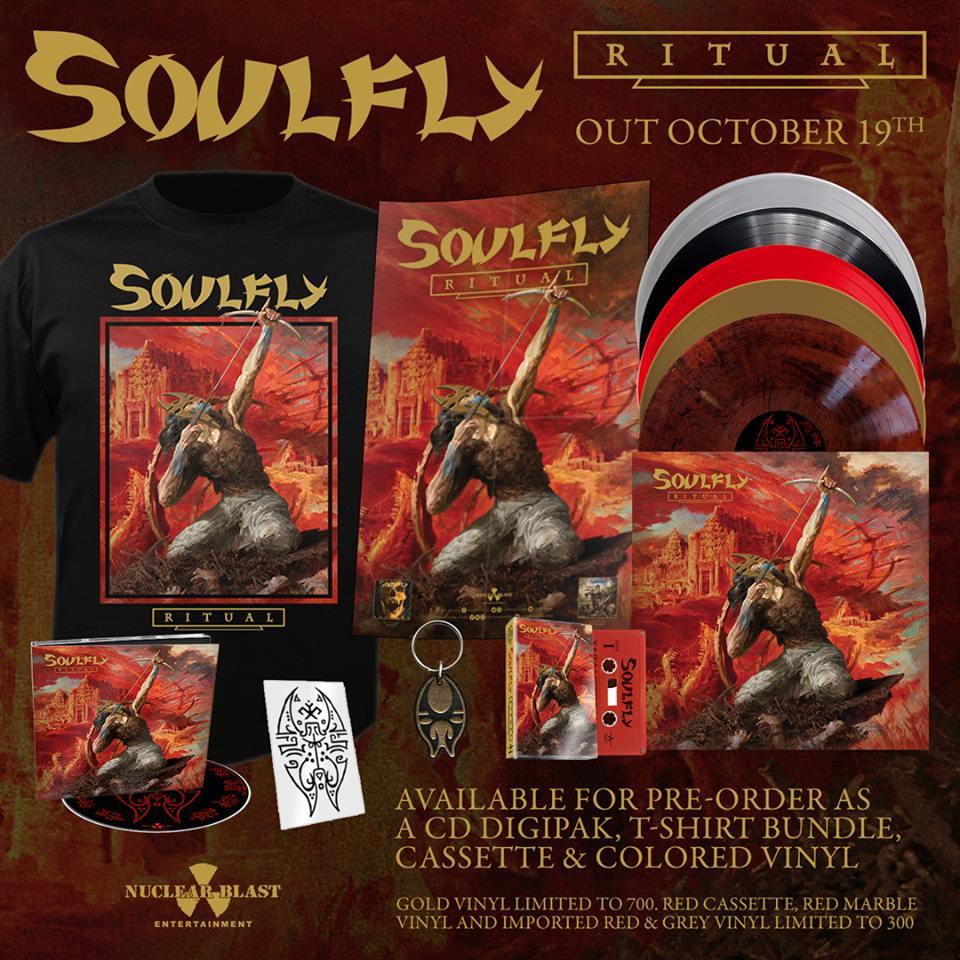 SOULFLY Ritual (2018) Thrash Brésil 39026710