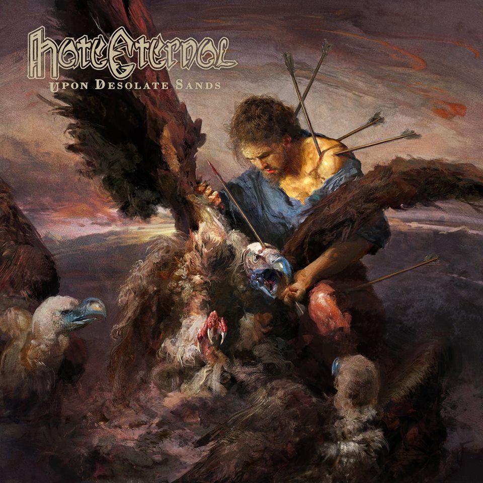 HATE ETERNAL Upon Desolate Sands (2018) Death Metal USA 39159110