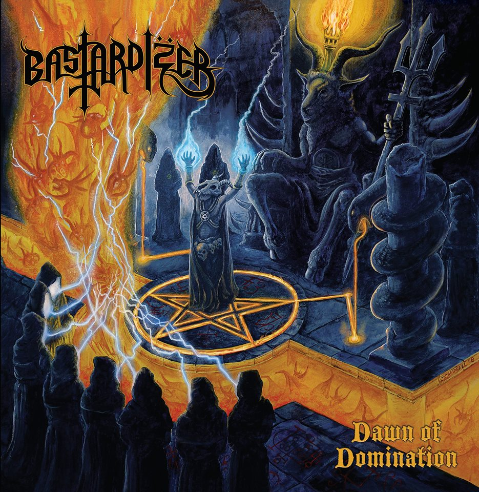 BASTARDIZER Dawn of Domination (2018) Blackened Thrash Metal Australie 39162710