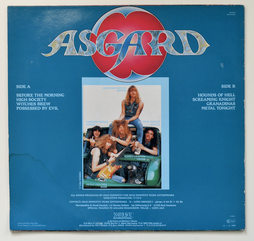 ASGARD In the Ancient Days (1986) HEAVY METAL Allemagne 39570410