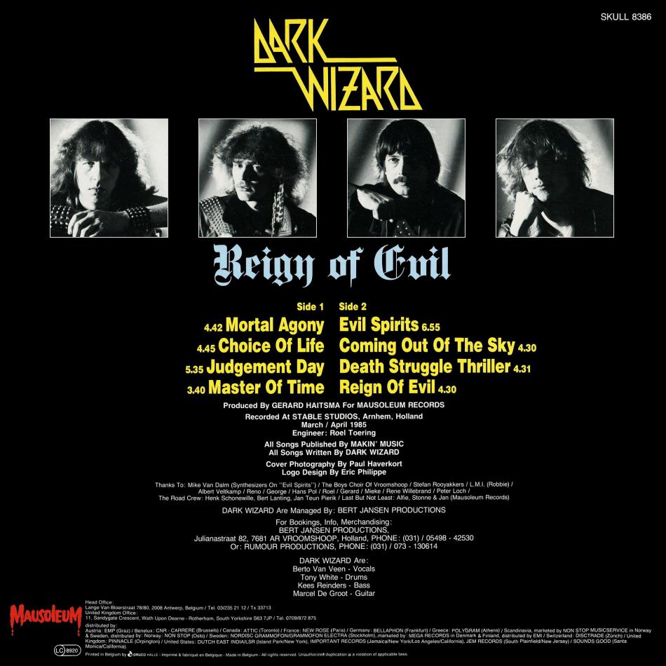 Dark Wizard - Devil's Victim (ep) - 1984 - Pays-Bas 3ltdxv10