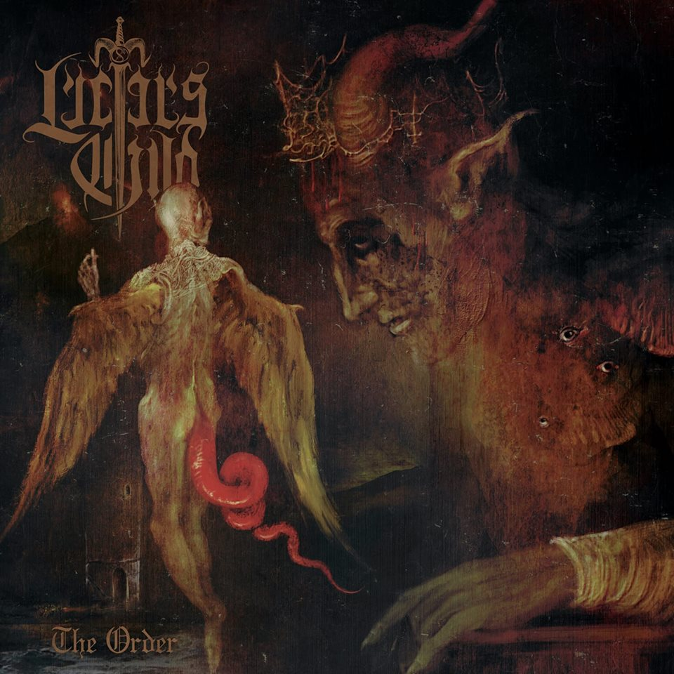 LUCIFER'S CHILD The Order (2018) Black Metal Grèce 40011710