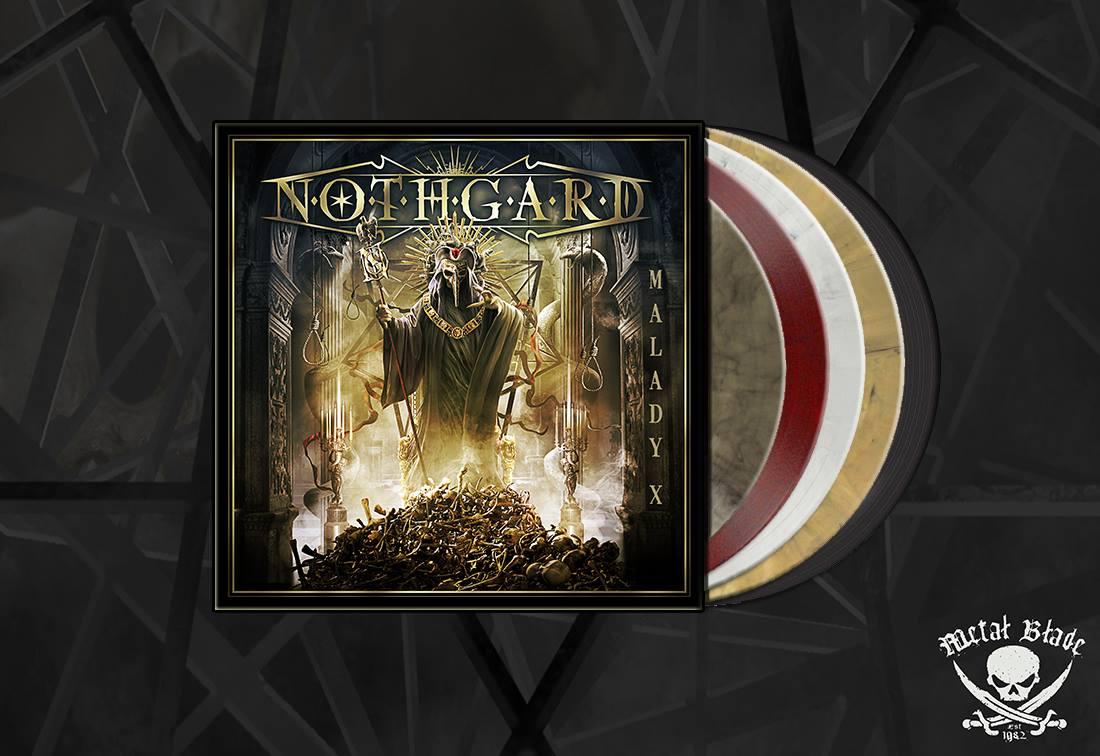 "NOTHGARD  ""Malady X"" (Death Metal Mélodic - OCT 2018) 40432610"