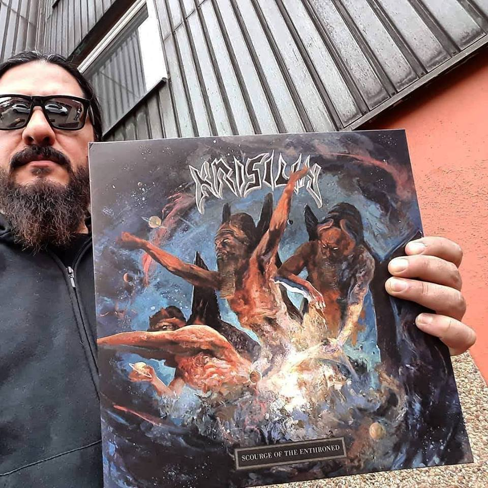 KRISIUN Scourge Of The Enthroned (2018) Death Metal Brésil 41416010