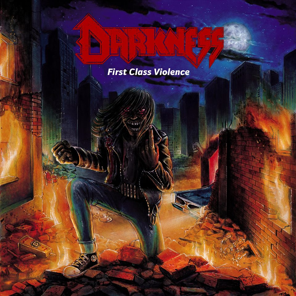 DARKNESS First Class Violence (2018) Thrash ALLEMAGNE 41476410