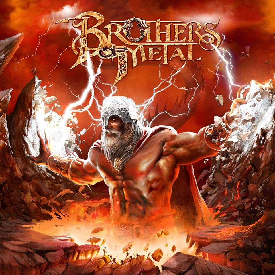 BROTHERS OF METAL Prophecy of Ragnarok (2018) True Heavy Metal SUEDE 41827710