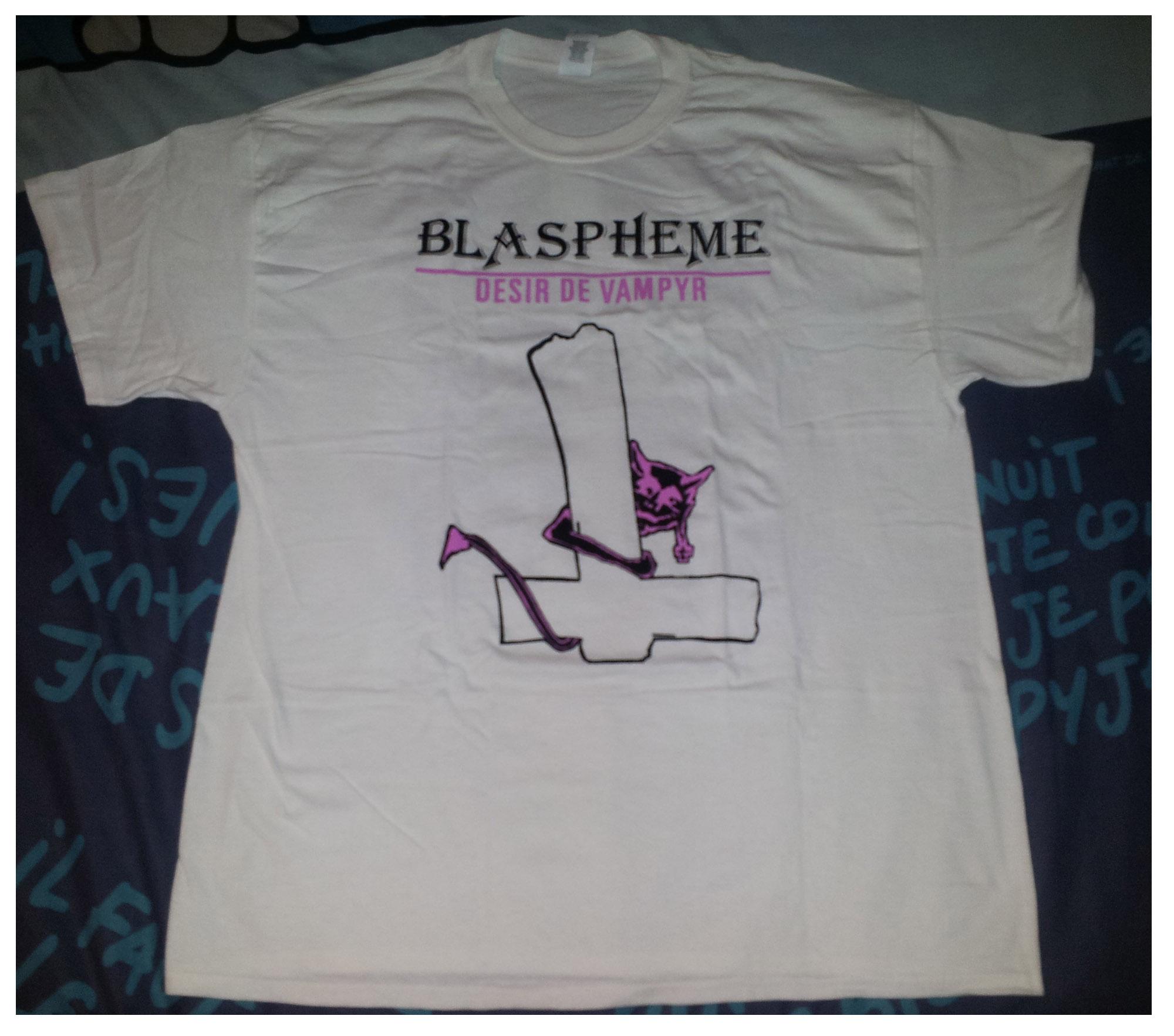 """reédition en cassette BLASPHEME """"désir de vampire"""" Christophe Bailet 420"""