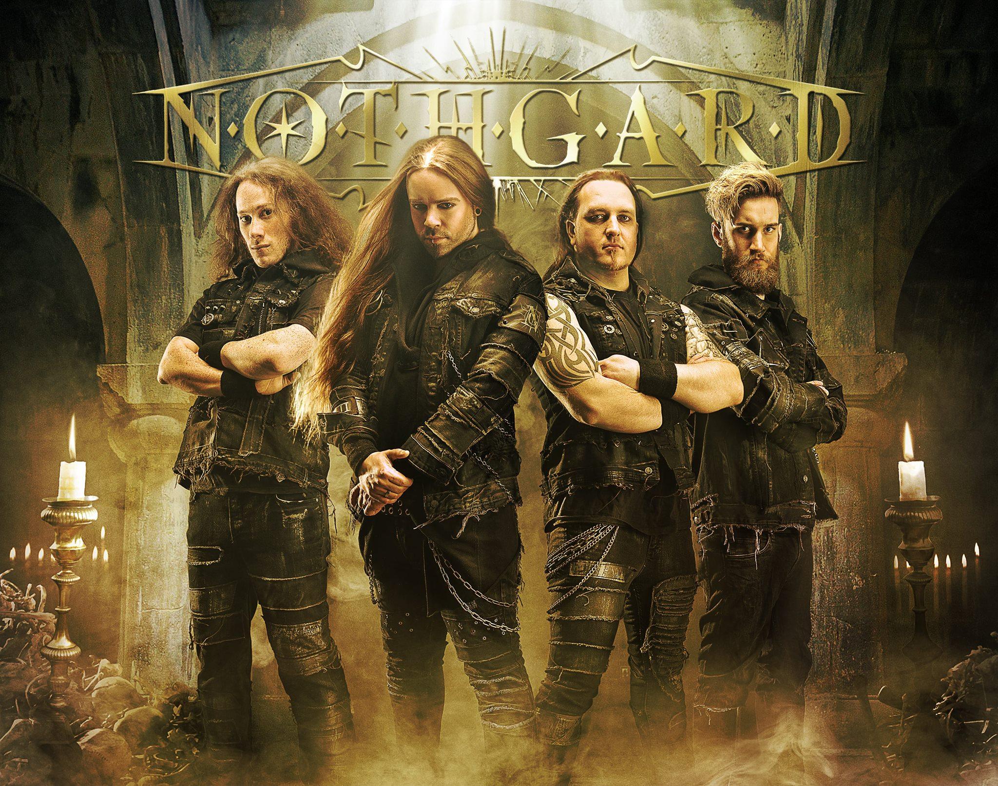 "NOTHGARD  ""Malady X"" (Death Metal Mélodic - OCT 2018) 42276210"