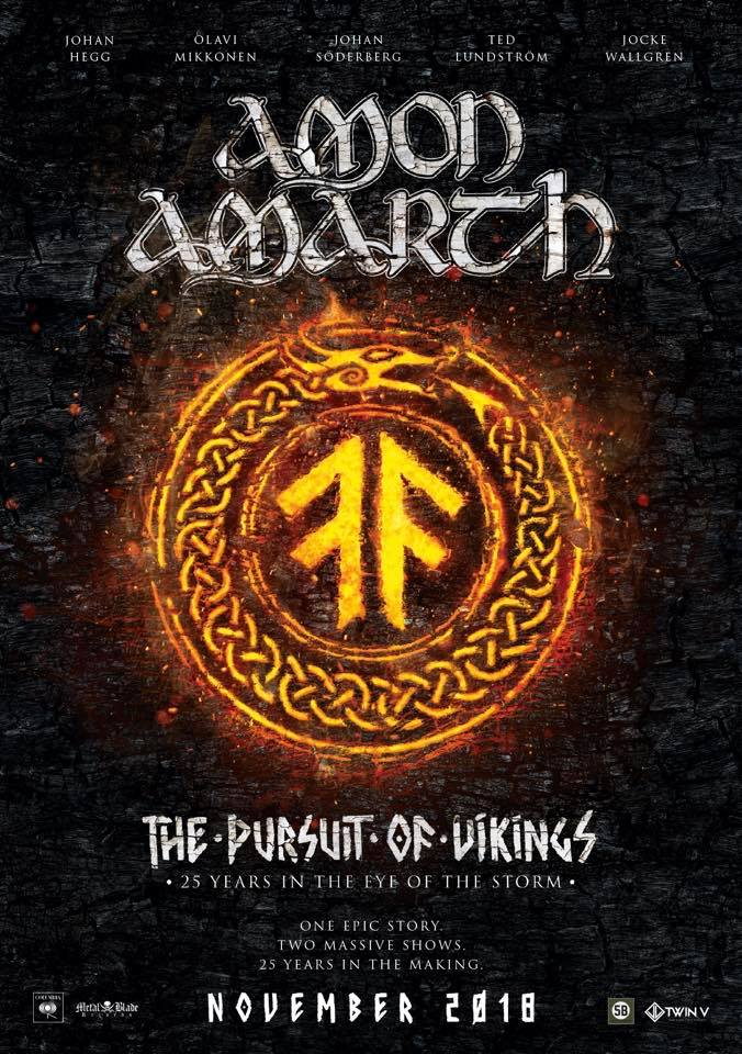 AMON AMARTH The Pursuit Of Vikings: 25 Years In The Eye Of The Storm (2018) Metal VIKING !  42284110