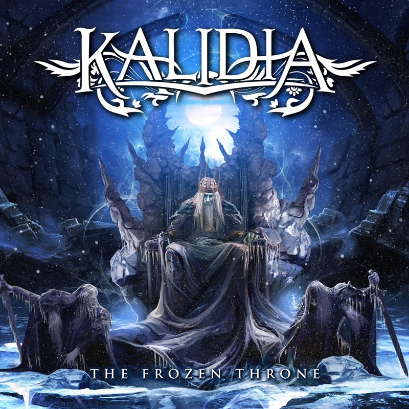 KALIDIA The Frozen Throne (2018) Power Metal ITALIE 42611810