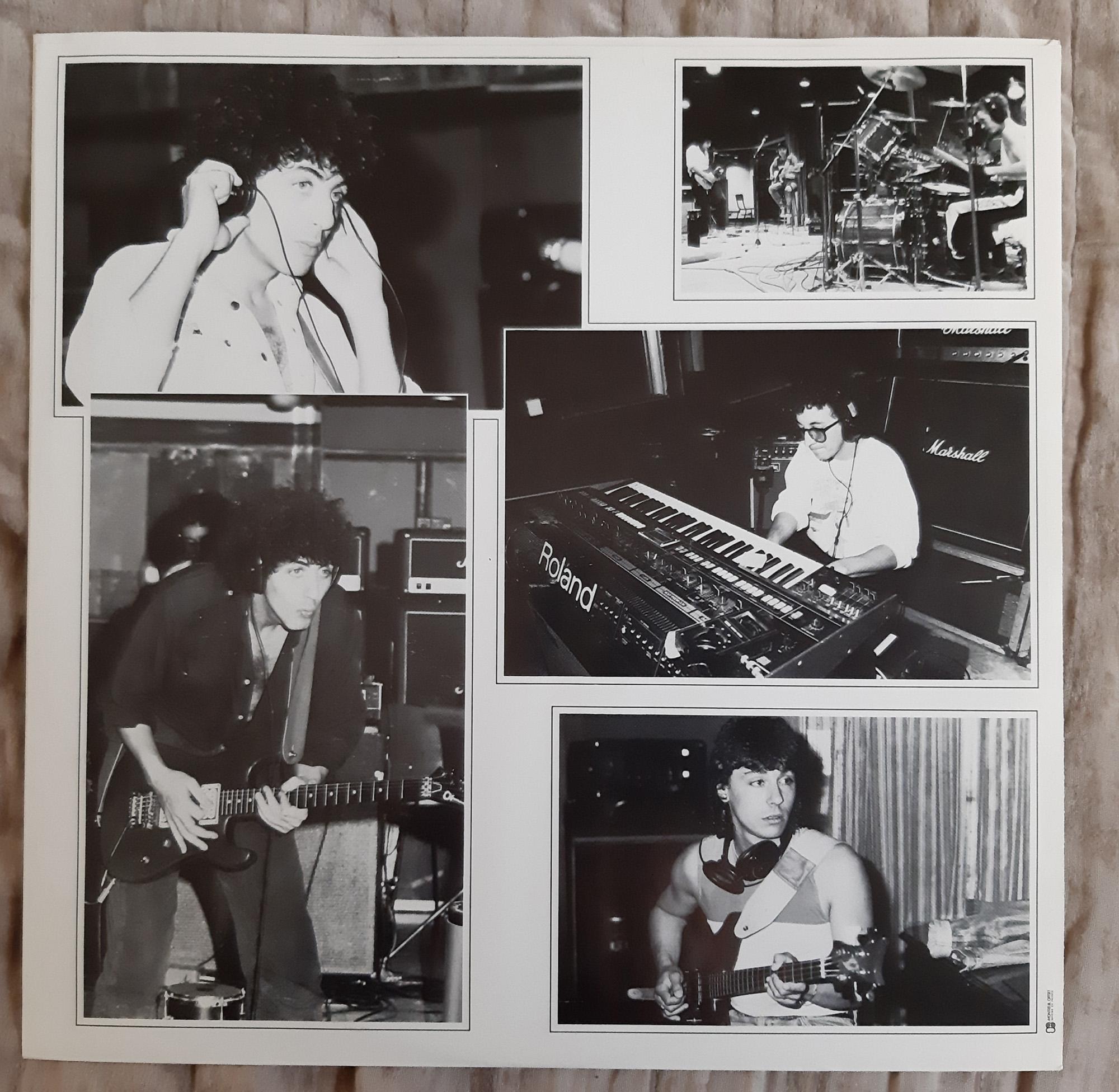 MORHO Morho (1985) Maxi 45 tours - le vinyle vu de plus près ...   428