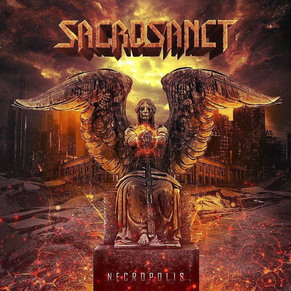 SACROSANCT Necropolis (2018) Heavy-Metal ALLEMAGNE/HOLLANDE 42822510