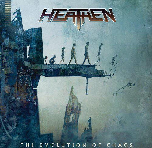 "Réédition de ""Evolution of Chaos"" du groupe HEATHEN (2009/2020) Thrash USA 42991110"
