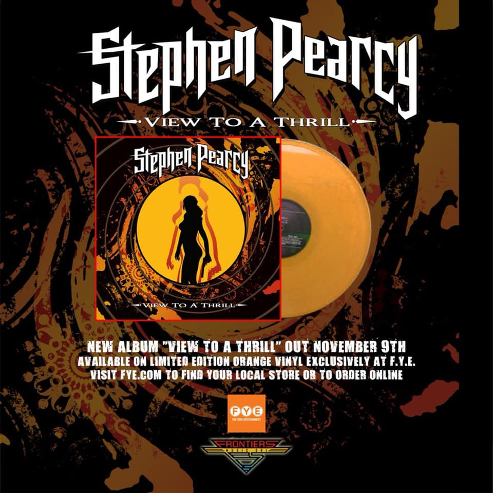 STEPHEN PEARCY View To A Thrill (2018) Hard-Rock USA 43058510
