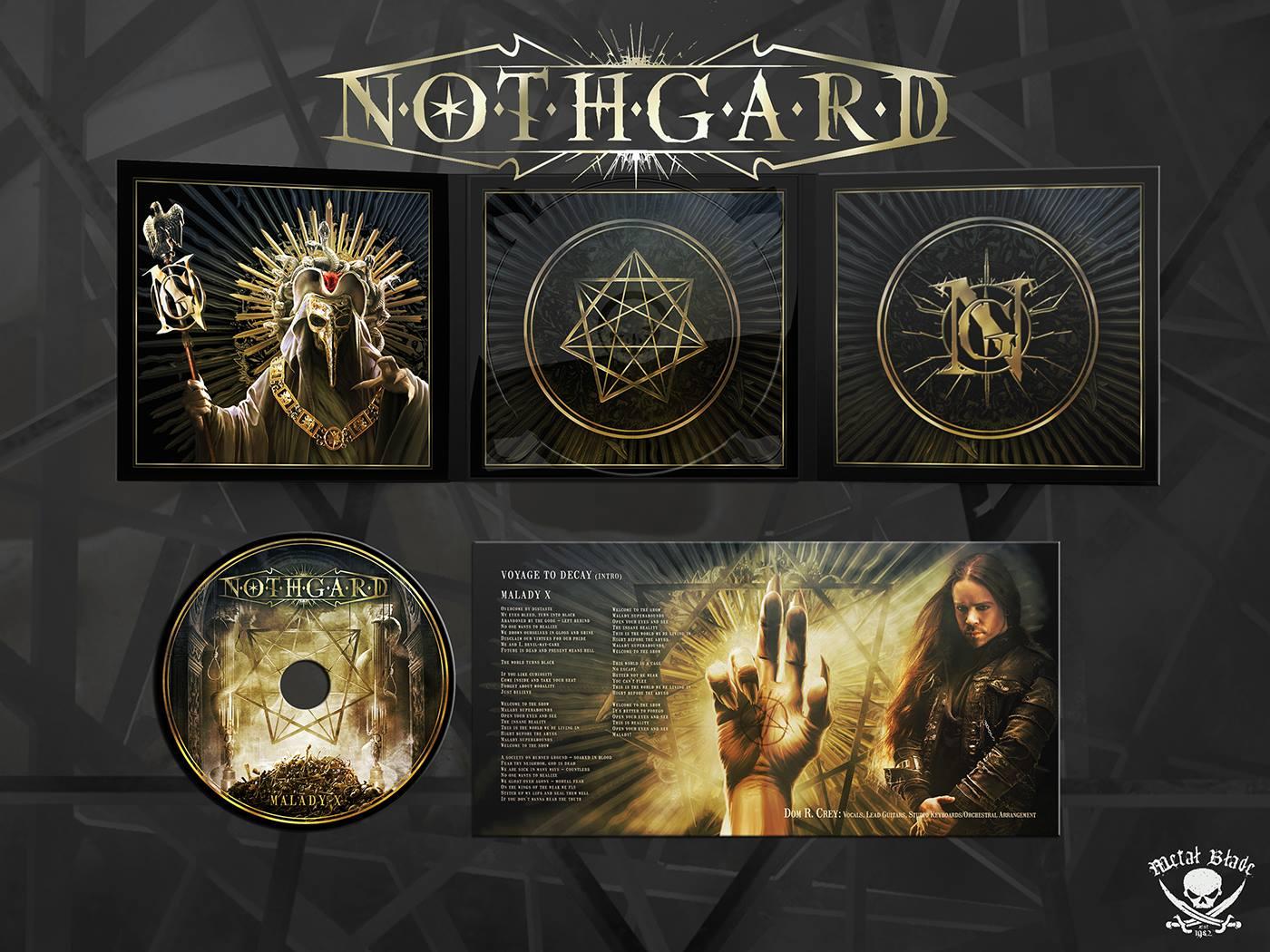 "NOTHGARD  ""Malady X"" (Death Metal Mélodic - OCT 2018) 43123210"