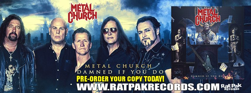METAL CHURCH Damned If You Do (2018) Heavy/Speed USA 43133210
