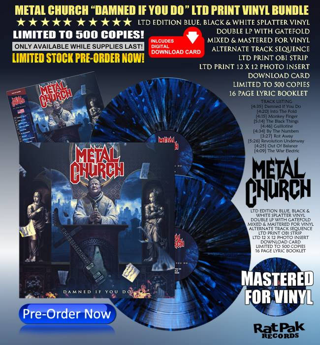 METAL CHURCH Damned If You Do (2018) Heavy/Speed USA 43498510