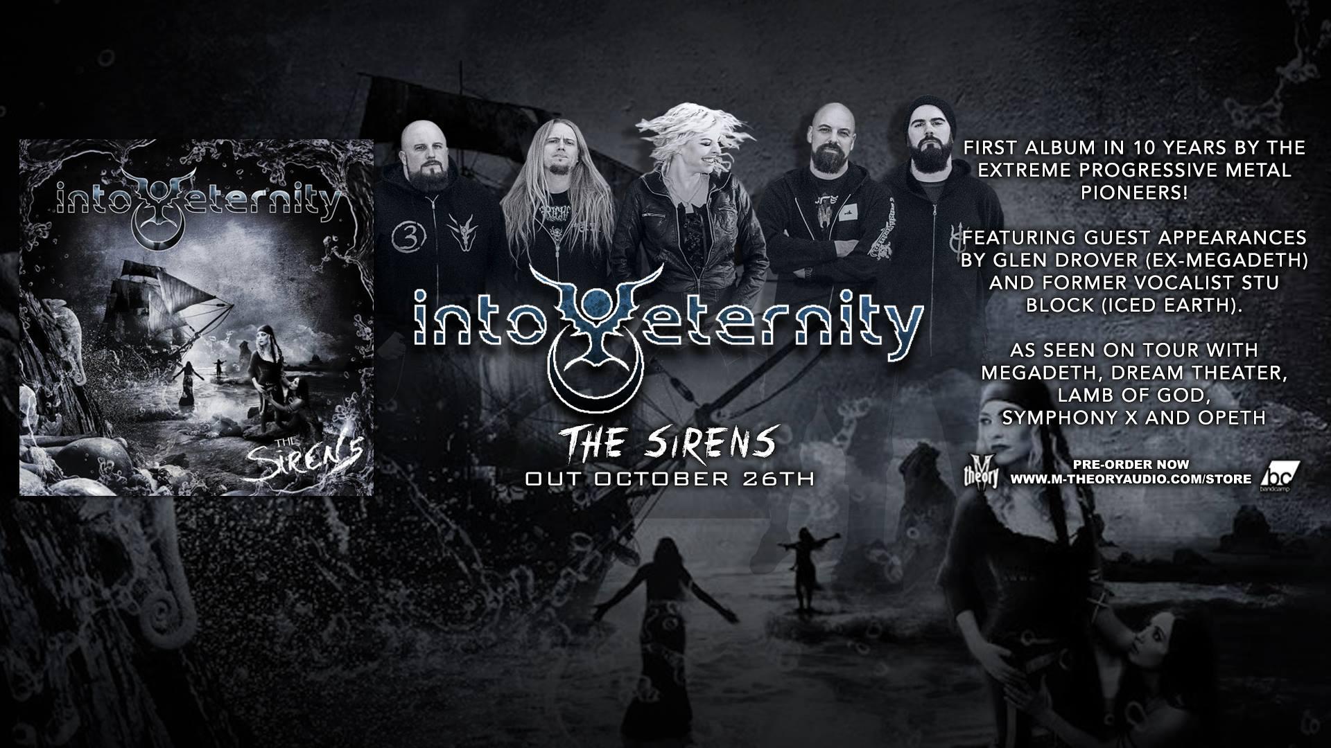 INTO ETERNITY The Sirens (2018) Extreme Progressive Metal CANADA 44122210