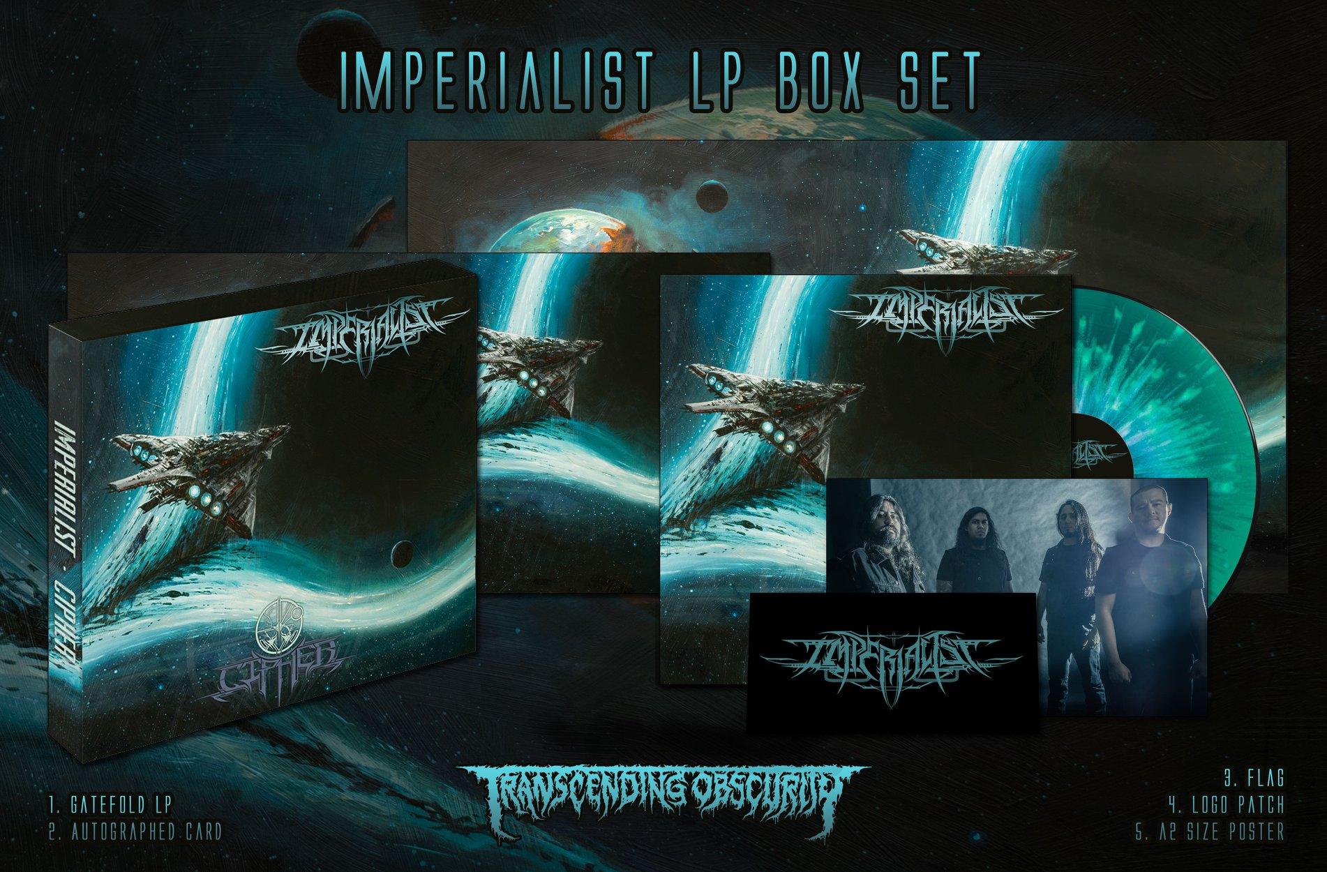 IMPERIALIST Cipher (2018) Black Metal USA 44162510