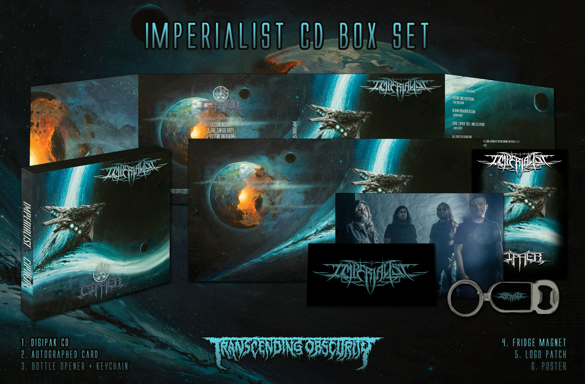 IMPERIALIST Cipher (2018) Black Metal USA 44286410