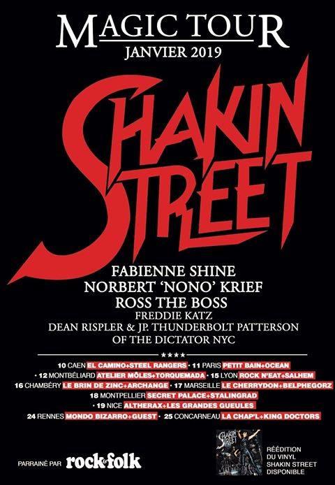 Tournée SHAKIN STREET en 2019 ... 45759010