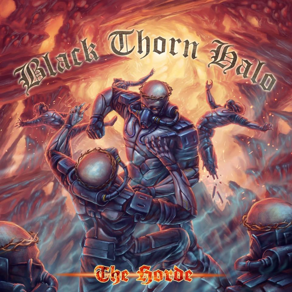 BLACK THORN HALO The Horde (2019) Thrash U.S.A 46636010