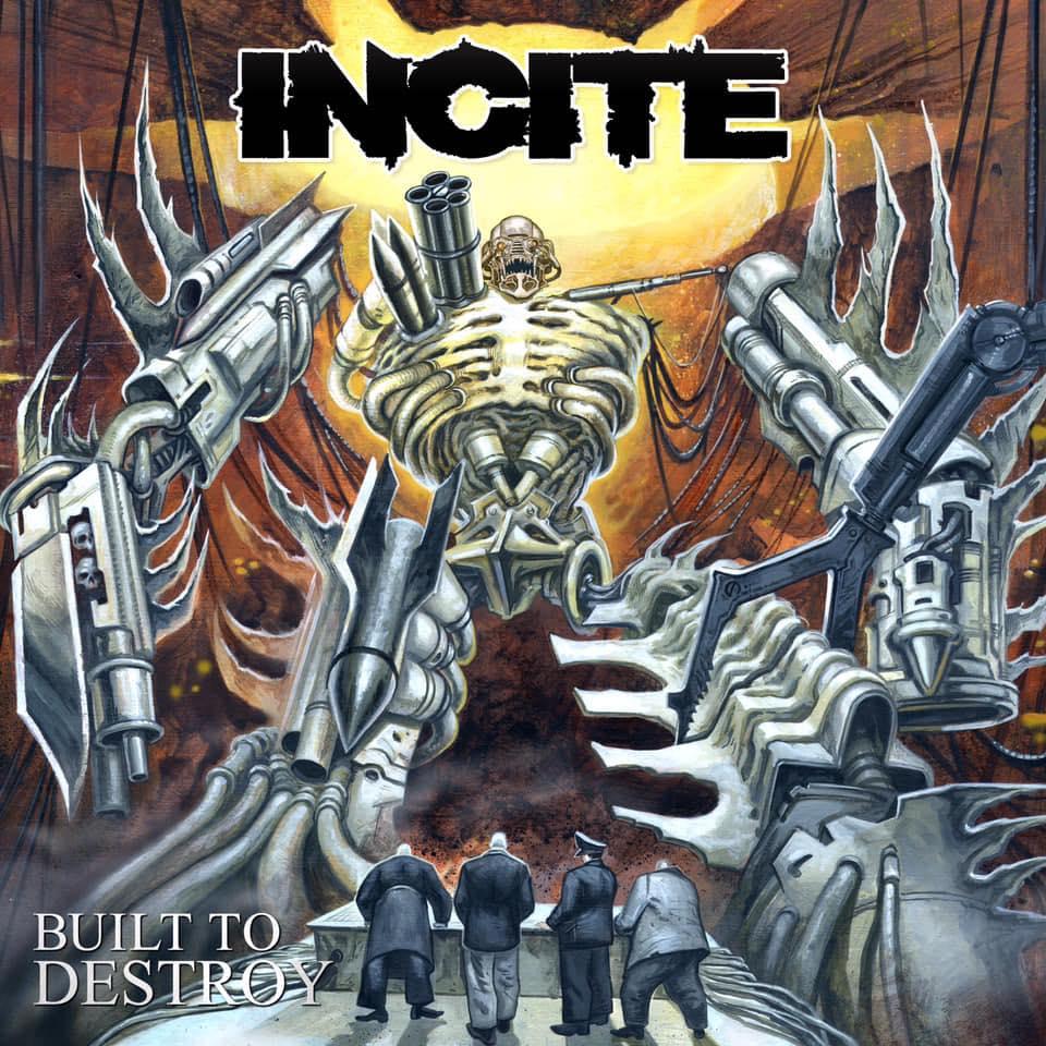 INCITE Built to Destroy (2019) Thrash USA 47156810